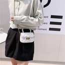 Korean student diamond chain small square bag messenger bag NHJZ337646