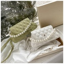 fashion pearl handle single shoulder bag  NHWH337654