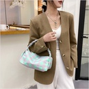 Retro plaid handbag wholesale NHWH337656