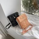 Fashion embroidery thread rhombus bucket bag  NHWH337658