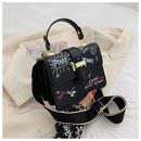 fashion printing small square bag NHWH337659