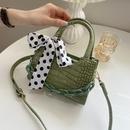 Korean bow decoration oneshoulder messenger bag NHWH337661