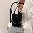 Korean metal handle mobile phone bag  NHWH337662