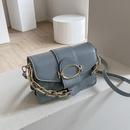 fashion metal thick chain small square bag  NHWH337666