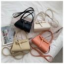 Korean geometric messenger bag wholesale NHWH337673