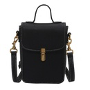 retro solid color mobile phone bag NHWH337697