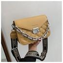 fashion wide chain small square bag  NHWH337703