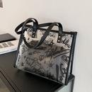 fashion transparent large capacity tote bag NHTC337772