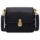 Korean solid color messenger bag  NHTC337778
