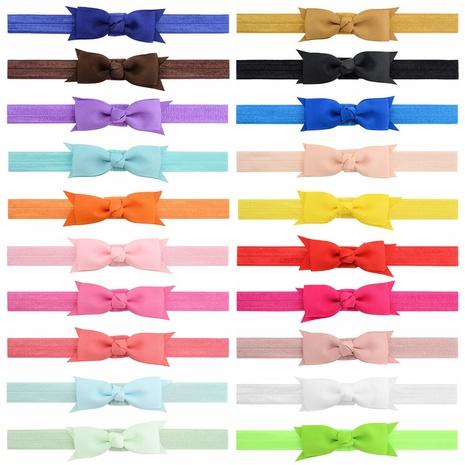 korean ribbon bow headband set NHMO337845's discount tags