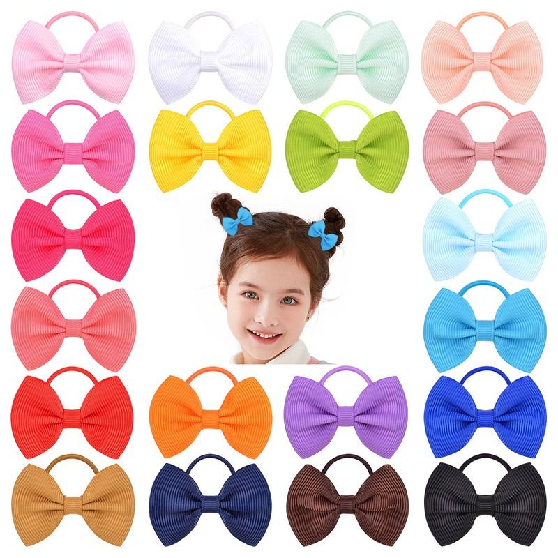 New fashion bowknot childrens hair ring set NHMO337847