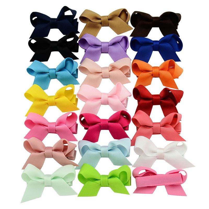 Childrens cute bow hair clips set  NHMO337851