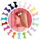 Multicolor childrens bow clip set NHMO337855