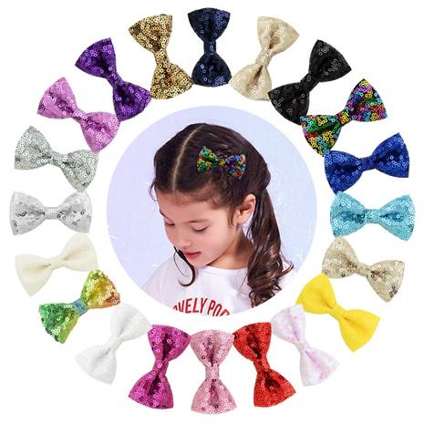 cute bowknot double-sided children's side clip set NHMO337867's discount tags