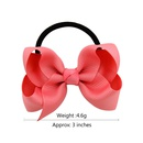 childrens solid color baby bowknot hair ring set NHMO337870