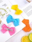 Classic multicolor bow hairpin set NHMO337871