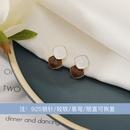 Korean geometric earrings wholesale NHWB338040