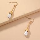 Boucles d39oreilles simples  pampilles et perles NHAN338078