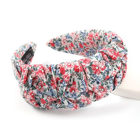 fashion floral printing headband  NHJE338164's discount tags