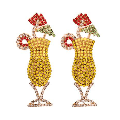 Diamantbesetzte Ohrringe aus Modelegierung im Großhandel NHJJ338188's discount tags