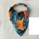 Korean printing folds widebrimmed headband wholesale NHOF338293