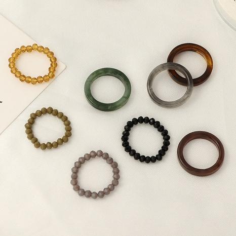 anillo de resina con cuentas de moda NHNZ338302's discount tags