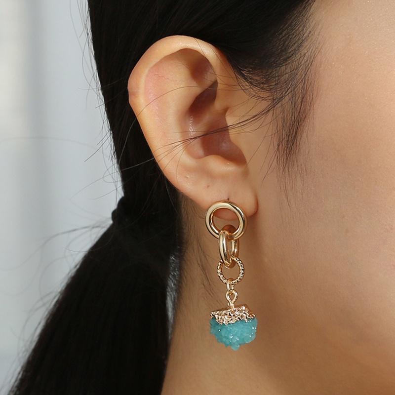 New creative retro metal earrings  NHAN338336