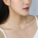 Collier en alliage de papillon de diamant coren en gros NHAN338341
