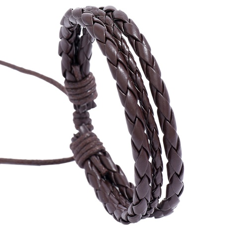 Mode gewebtes Lederarmband Großhandel NHPK338394's discount tags