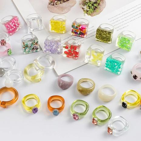 nuevo anillo de resina estrella de moda NHGY338477's discount tags