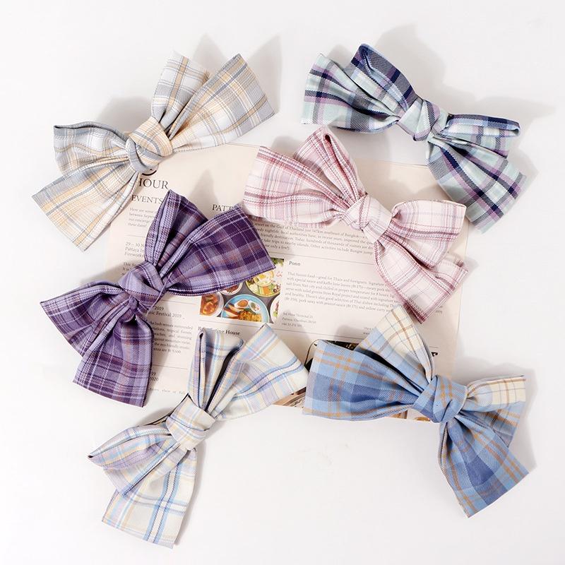 fashion Lattice Bowknot Clip NHAMD338446
