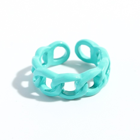 Fashion Thread Twist Alloy Spray Paint Ring   NHJQ338480's discount tags