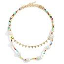Bohemian handmade disc miyuki beads necklace NHJQ338485