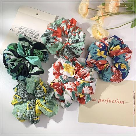 Korean new fashion leaf hair scrunchies  NHOF338639's discount tags