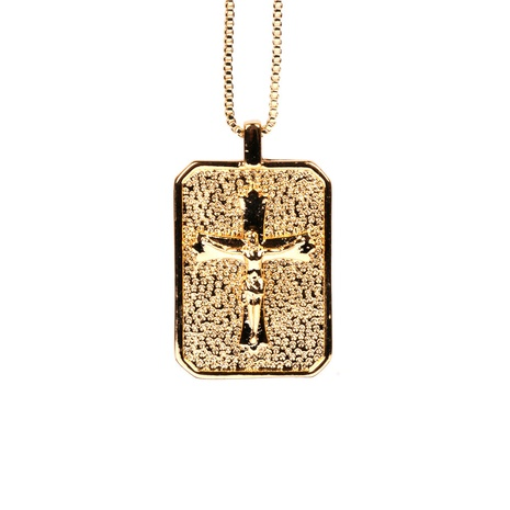 simple fashion Cross Necklace NHPY338650's discount tags