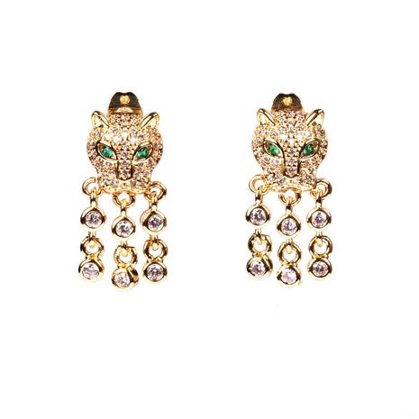 Nuevos pendientes de leopardo de moda NHPY338653's discount tags