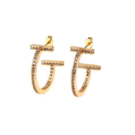 new fashion C-shaped zircon earrings NHPY338657's discount tags