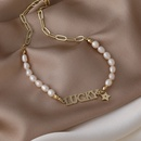 Baroque freshwater pearl necklace  NHMS338706