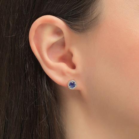 mini boucles d'oreilles zircon incrustées de mode NHLU338720's discount tags