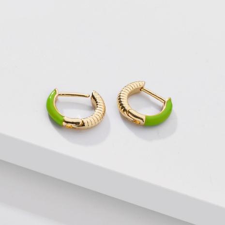 clip de oreja de aceite de goteo de color de moda NHLU338733's discount tags