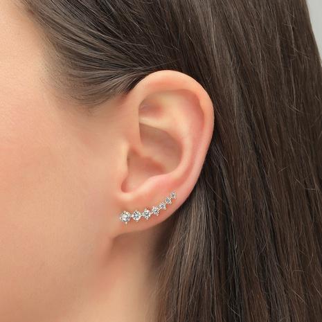 clip d'oreille de mode zircon NHLU338762's discount tags