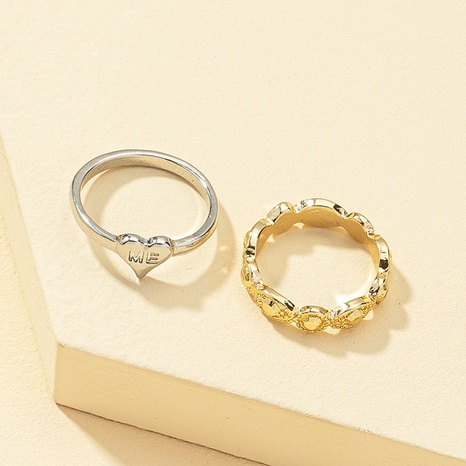 Korean gem alloy ring  NHQJ338806's discount tags
