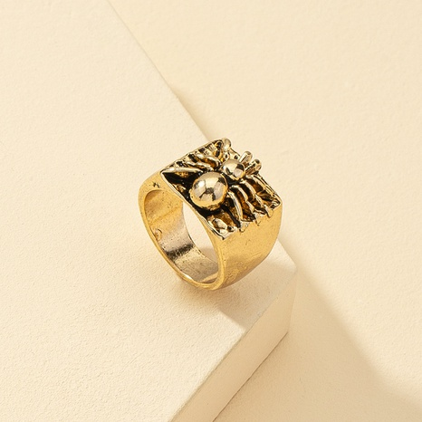 retro spider alloy ring  NHQJ338807's discount tags