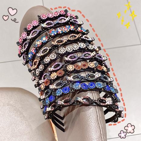 Koreanisches Strassharz Stirnband NHNA338826's discount tags