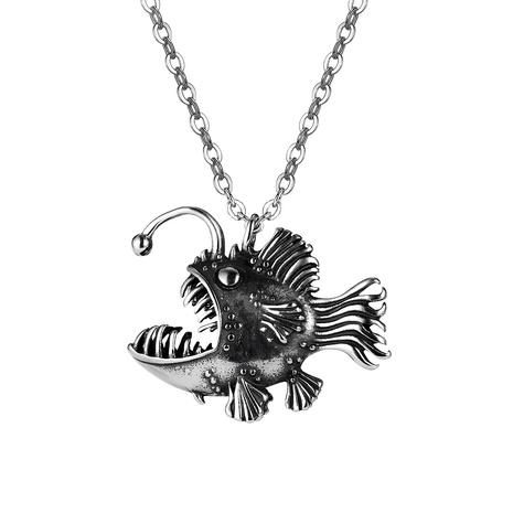 Retro Halskette aus rostfreiem Stahl für Herren NHOP338921's discount tags