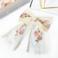 NHUX1568629-Lace-Bowknot-Big-Flower-Streamer-Spring-Clip