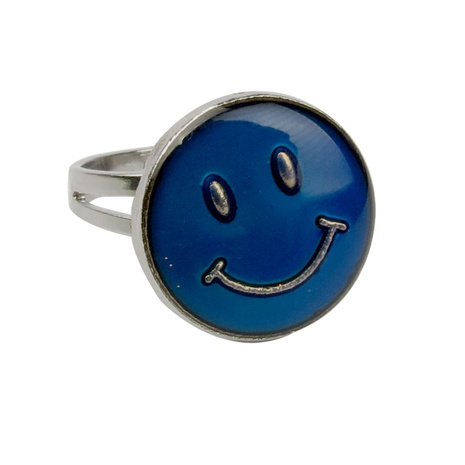 fashion smiling face couple ring  NHBI338984's discount tags