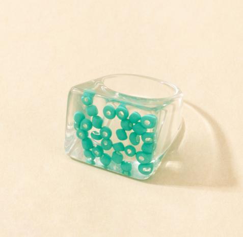 nuevo anillo de resina estrella de moda NHGY338486's discount tags