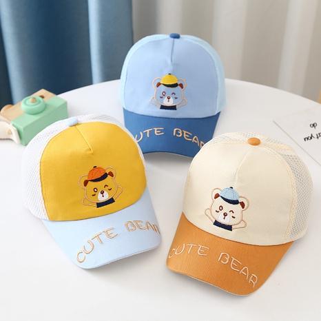 casquette de baseball en maille ours mode NHTQ339136's discount tags