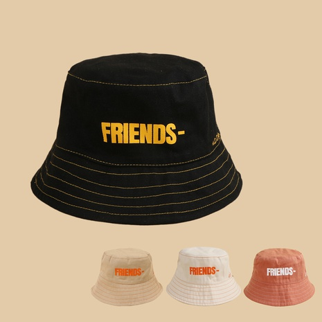 Chapeau de pêcheur pour enfants lettre coréenne NHTQ339143's discount tags